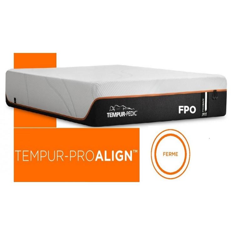 Tempur-pedic proalign firm mattress
