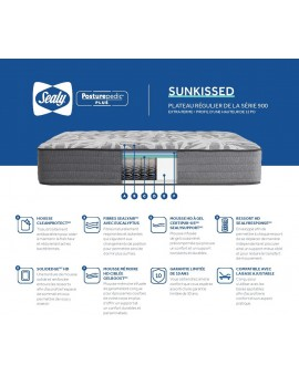 Matress Sunkissed tt by Sealy